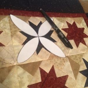 The Amateur Librarian // Scrap Stars Mini Quilt
