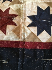 The Amateur Librarian // Scrap Stars Mini Quilt