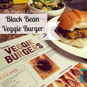 The Amateur Librarian // Black Bean Veggie Burgers