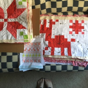 The Amateur Librarian // Fair Isle Quilt