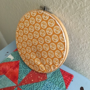 The Amateur Librarian // Give Thanks Embroidery Hoop Art