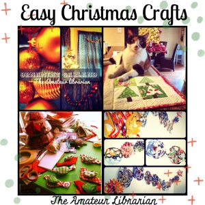 The Amateur Librarian // Easy Christmas Crafts Roundup