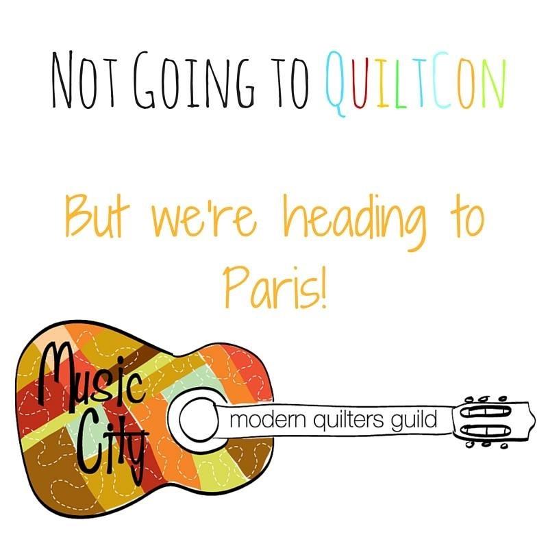 The Amateur Librarian // Music City MQG Paris Landing Retreat