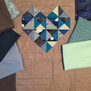 The Amateur Librarian // True Love Baby Quilt