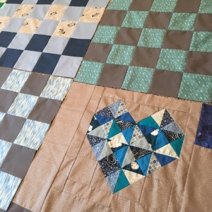 The Amateur Librarian // True Blue Baby Quilt