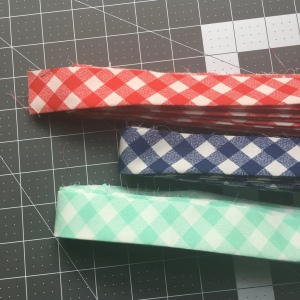 The Amateur Librarian // Gingham binding