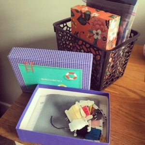 The Amateur Librarian // Birchbox Storage Solution