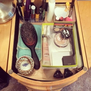 The Amateur Librarian // Birchbox Storage Solution