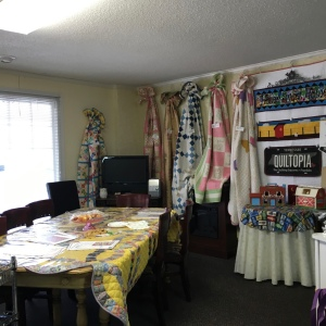 The Amateur Librarian // Middle TN Quilt Shop Hop