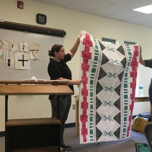 The Amateur Librarian // Michelle Wilkie Modern Quilt Design Class