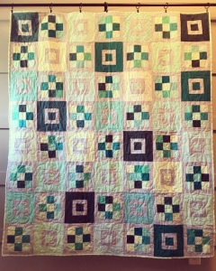 The Amateur Librarian // Blueberry Shortcake Quilt