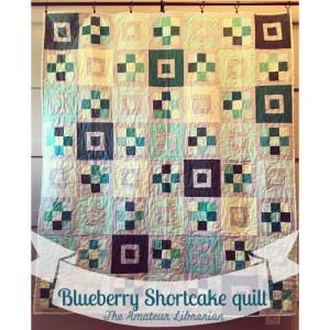 The Amateur Librarian // Blueberry Shortcake Quilt