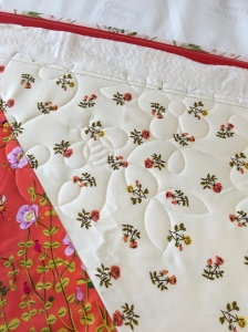 The Amateur Librarian // VIntage Star Baby Quilt