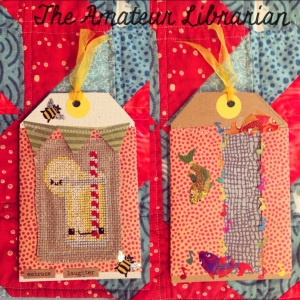 The Amateur Librarian // Cross Stitch Bookmark