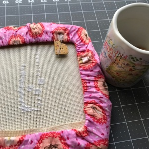 The Amateur Librarian // Drinks All Around Cross Stitch
