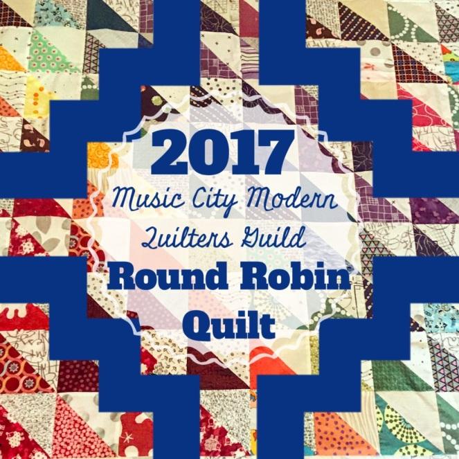 Round Robin Quilt: Round 5 – The Amateur Librarian