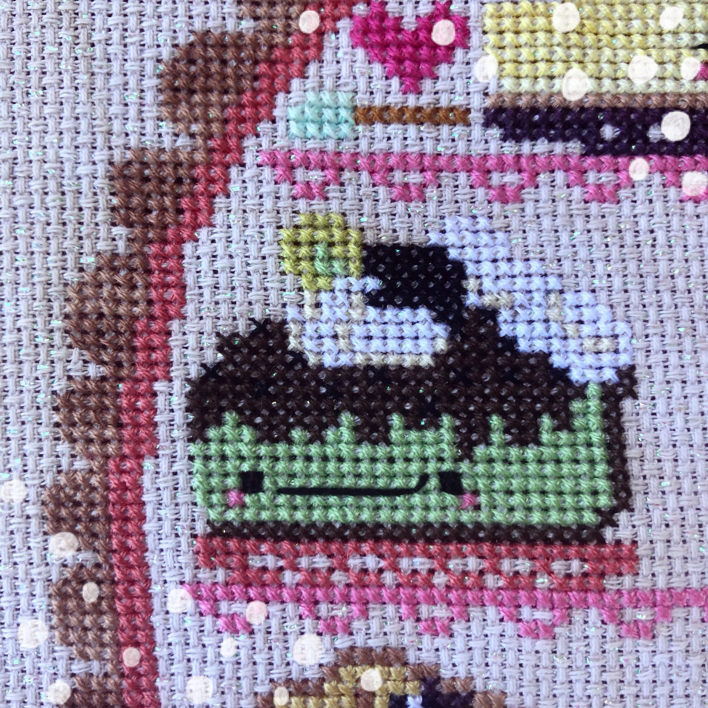 Sweet as Pie Cross Stitch: March 2018