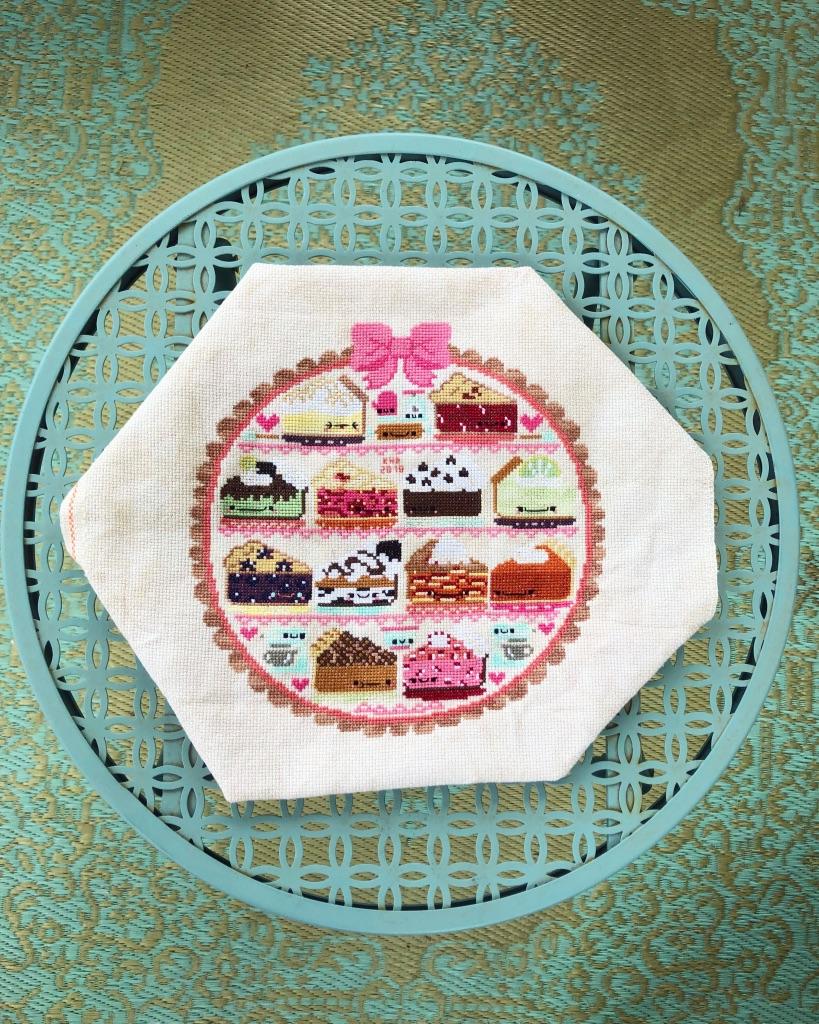 A Year of Pie: Sweet as Pie Cross Stitch