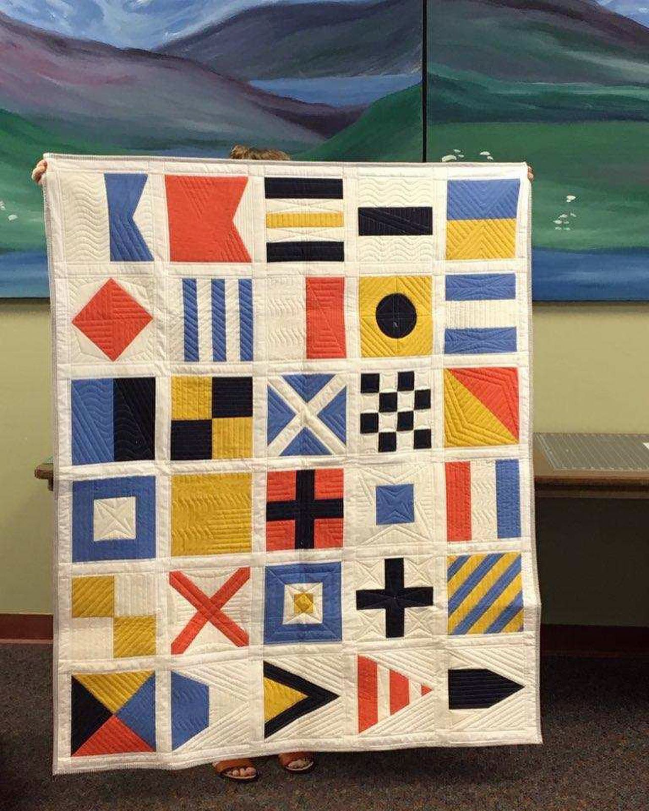 Nautical Flags Quilt